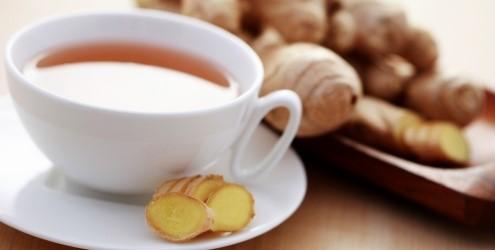 Emagreça com 50 Receitas de Chá de Gengibre