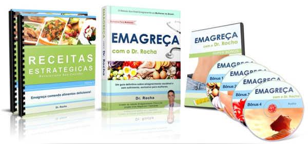 Emagreça com o Dr. Rocha de forma saudável.