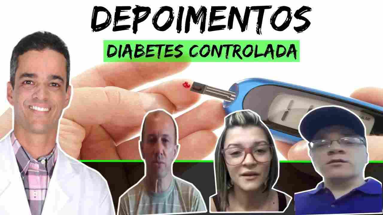Diabetes Controlada Dr. Rocha - Depoimentoss