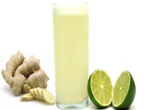 Receita de Água Sass de limão e gengibre